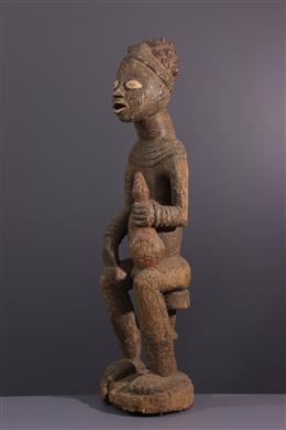 Figure d ancêtre royal Bangwa