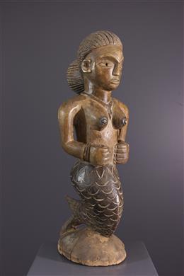 Statue Mamy Wata de Guinée