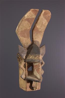 Masque lièvre de style Wakara