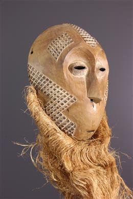 Art africain - Grand masque Lega Idumu