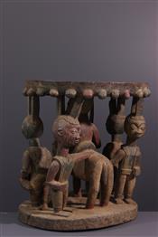 Tabourets, chaises, trônesSiège Yoruba