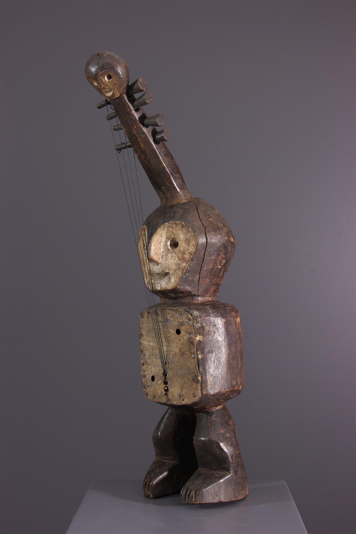Guitare Lega - Art africain