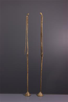 Couple Dogon en bronze