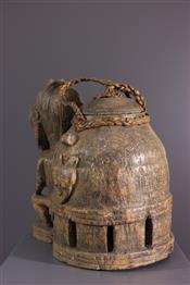 Pots, jarres, callebasses, urnesBoite Baoulé