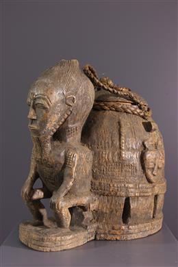Art africain - Boite à oracles Gbékré sé Baule
