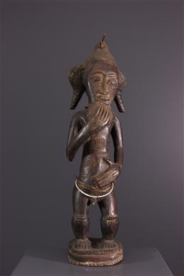 Statue Baule Asie usu