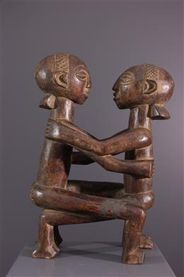 Statuette Luba couple