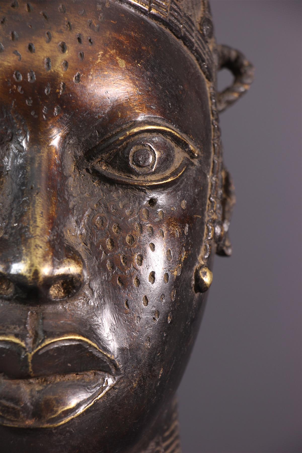 Tête Benin - Art africain