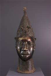 bronze africainTête Benin