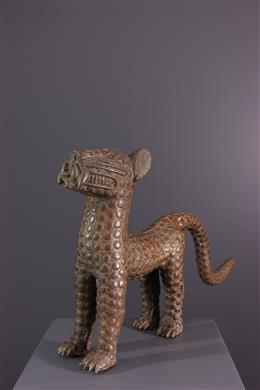 Figure de léopard Bénin