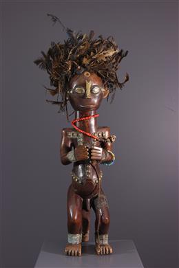 Art africain - Figure de gardien de reliquaire du Byeri