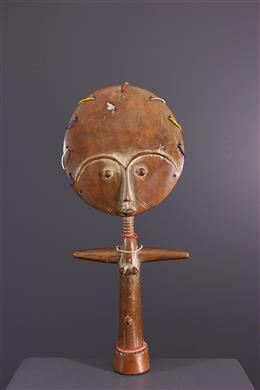 Figurine de fécondité Akua Ba - Ashanti