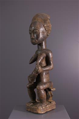 Art africain - Statue Asie usu Baoulé