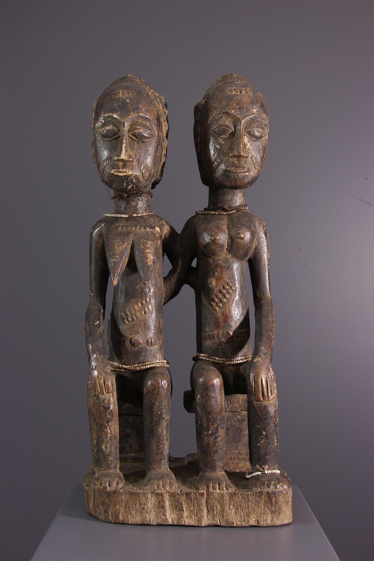 Statues Baoulé - Art africain