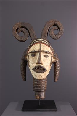 Tête Idoma - Art africain