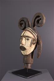 Masque africainTête Idoma