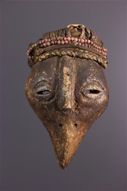 Art africain - Petit masque Holo zoomorphe