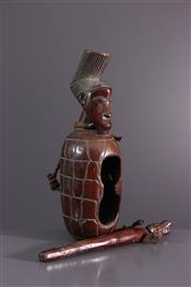 Instruments de musique, harpes, djembe Tam TamTambour Mangbetu