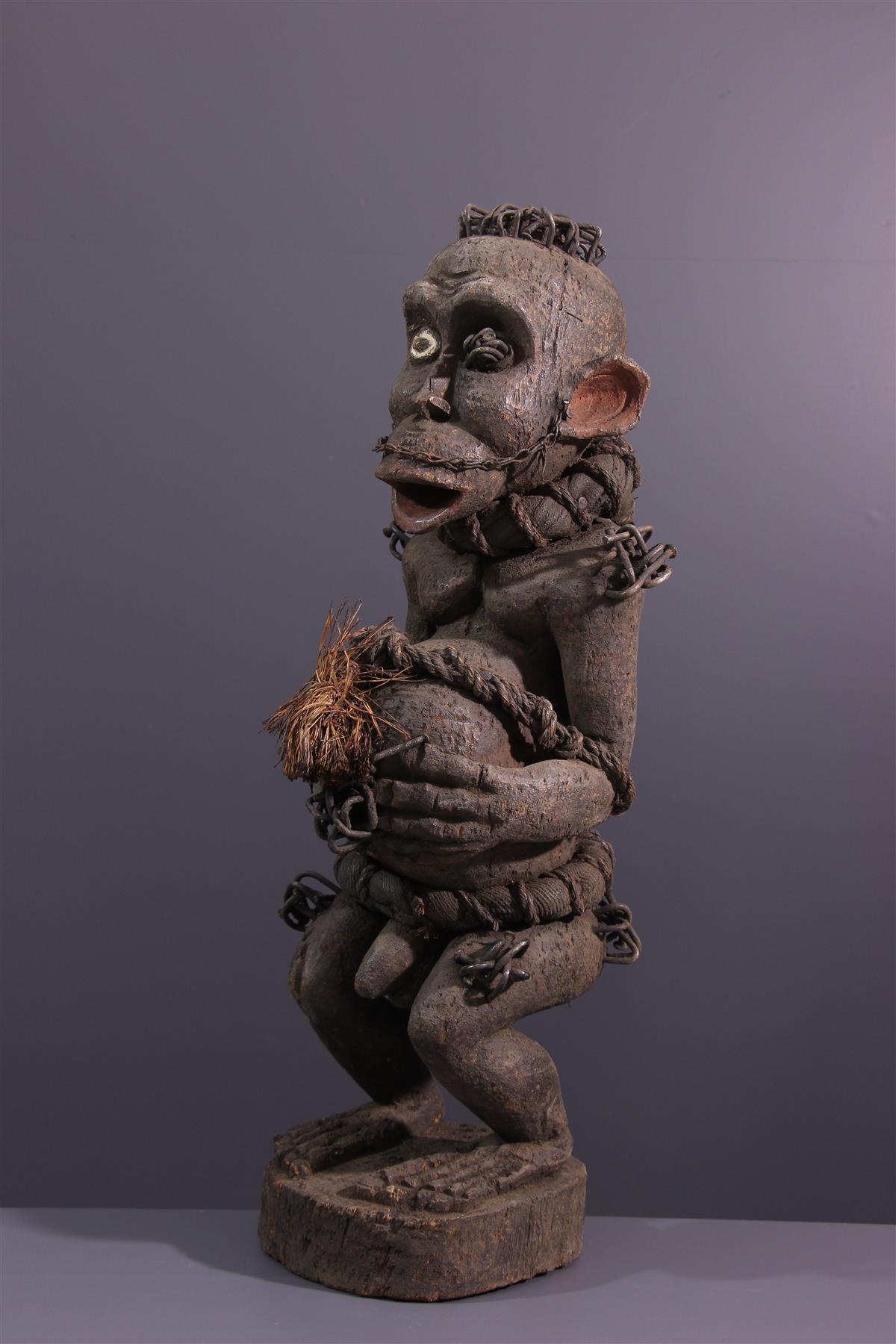 Statue Bulu - Art africain