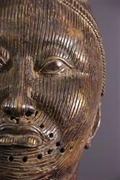 bronze africainTête bronze