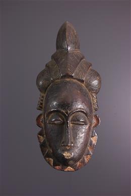 Art africain - Masque portrait Baulé / Yaoure