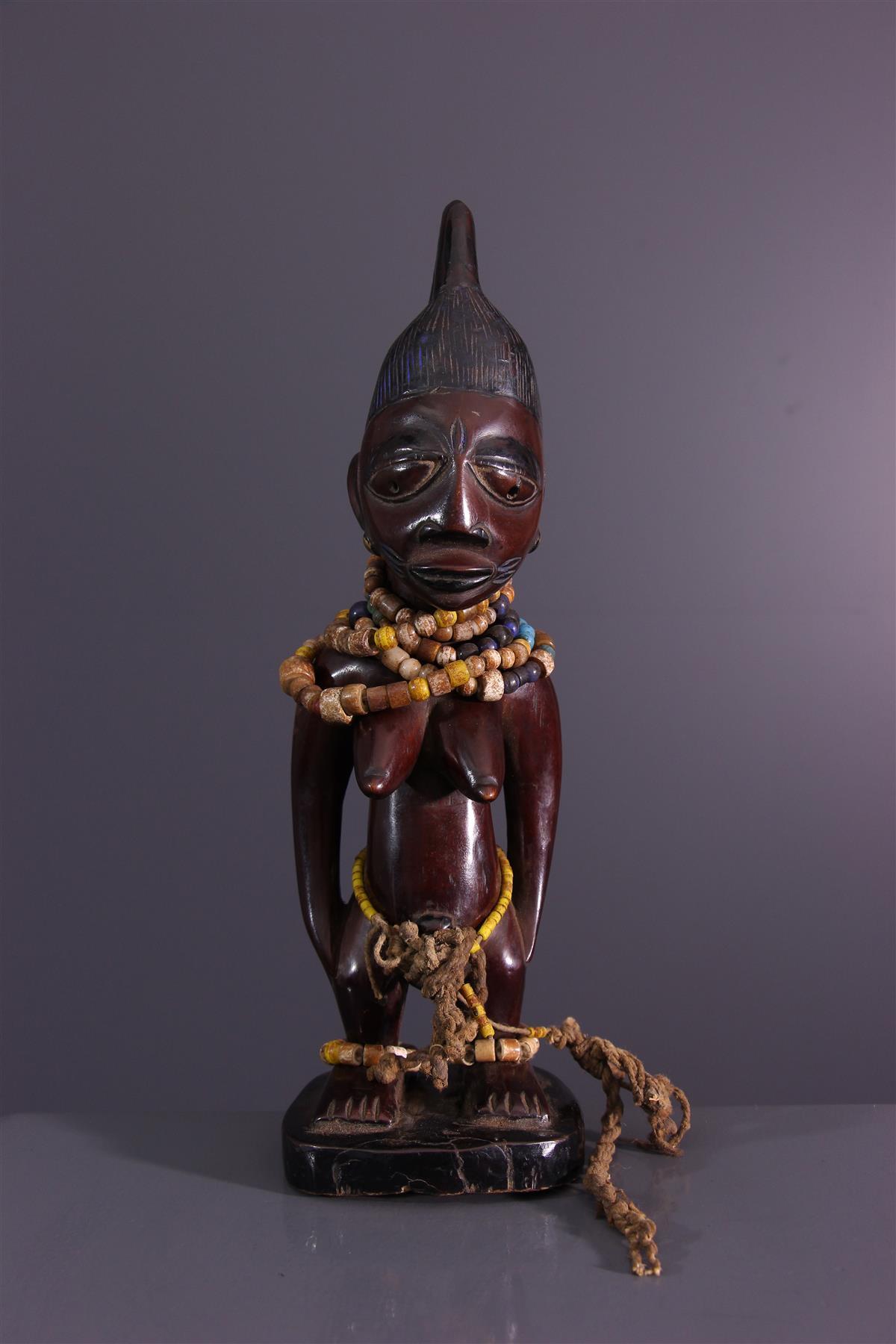 Poupée Yoruba - Art africain