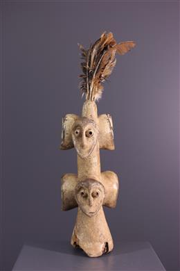 Art africain - Iginga Sakimatwematwe Statue - Lega - Congo RDC