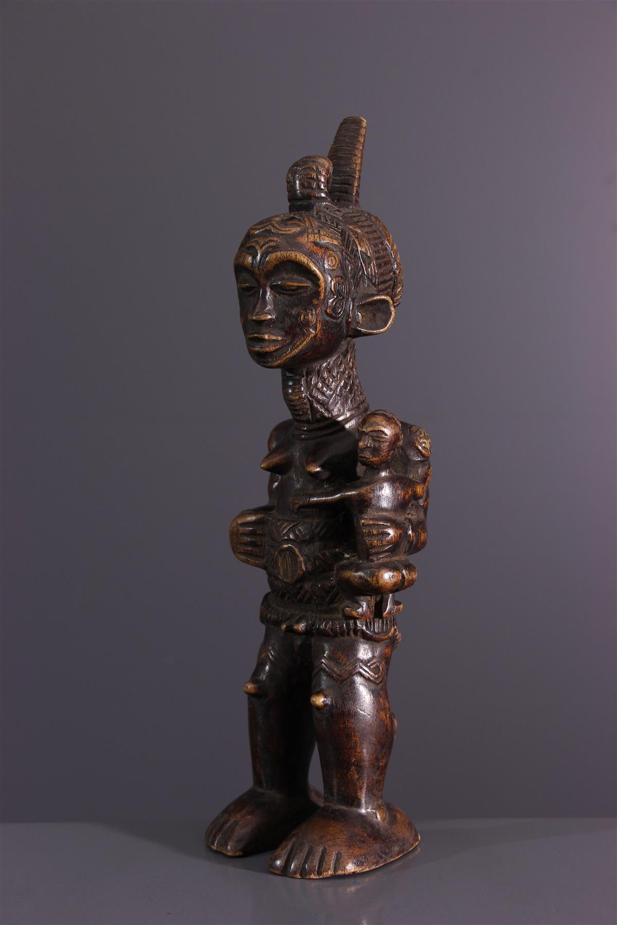 Fétiche Lulua - Art africain