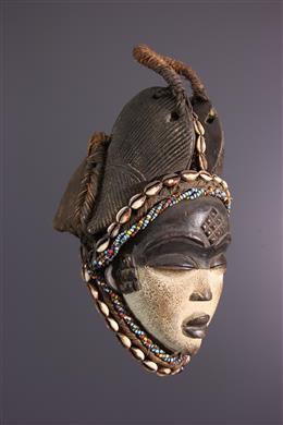 Masque Punu du Gabon