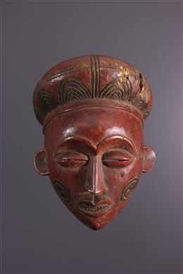 Art africain - Masque Luéna, Lwena Chokwe