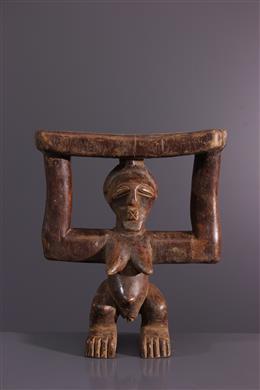 Art africain - Appuie-nuque Songye