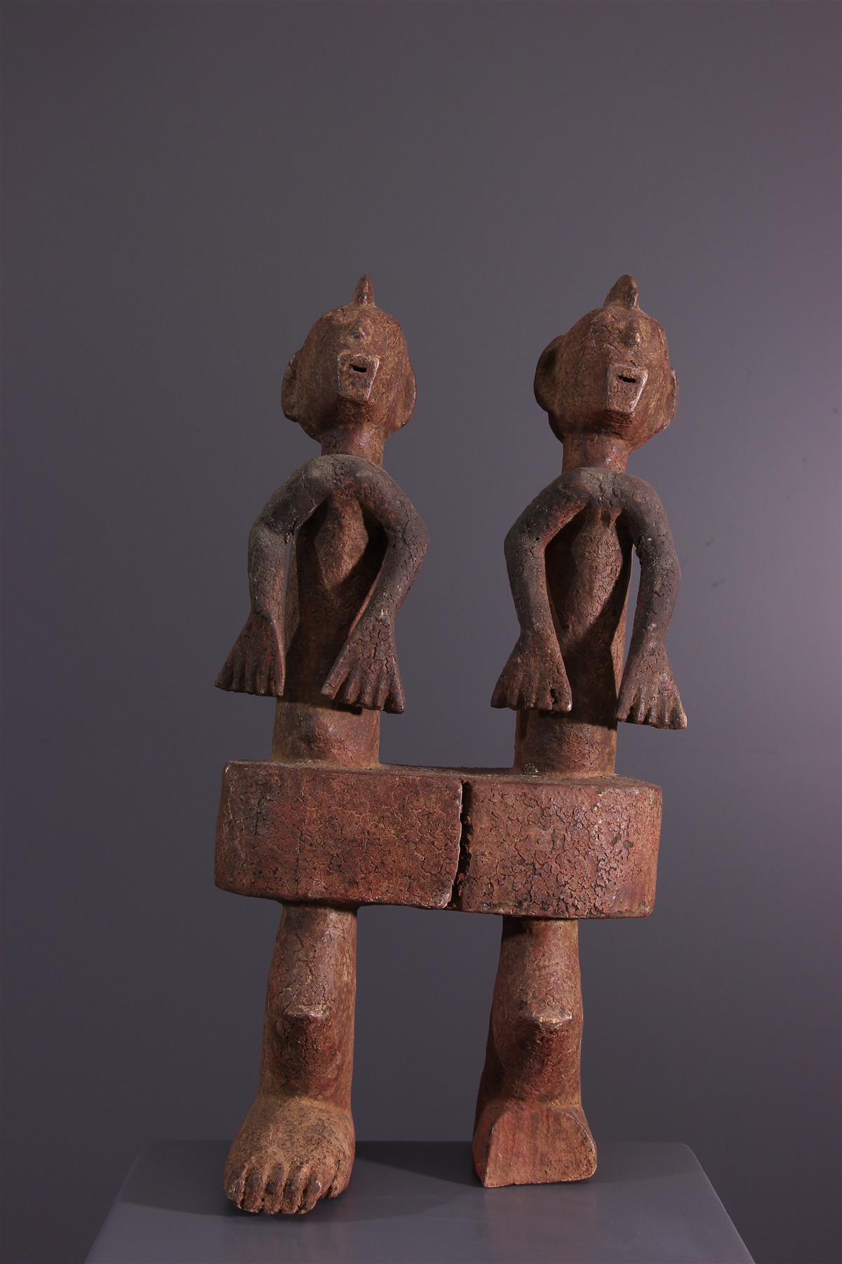Couple Chamba - Art africain