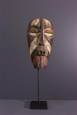 Art africain - Masquette Songye/ Luba Kifwebe