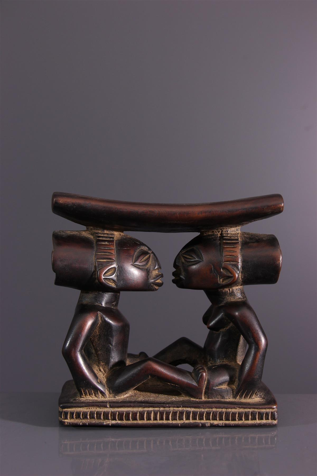 Appui-nuque Luba - Art africain