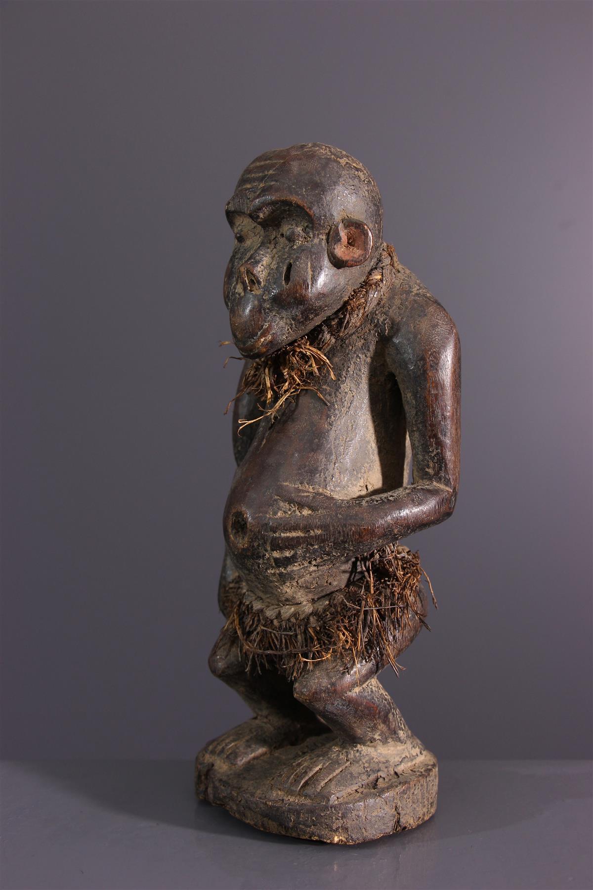 Fétiche Bulu - Art africain
