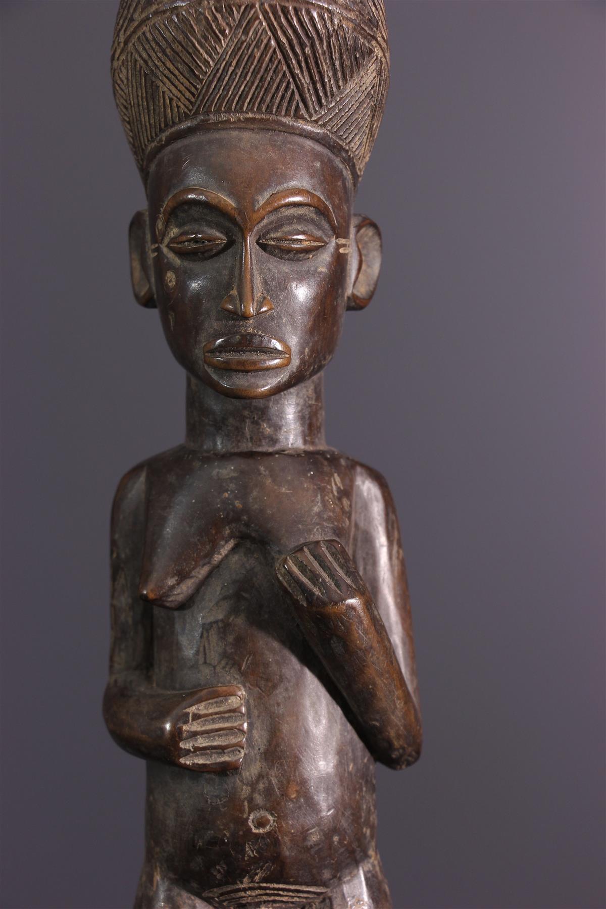 Statuette Lwena - Art africain