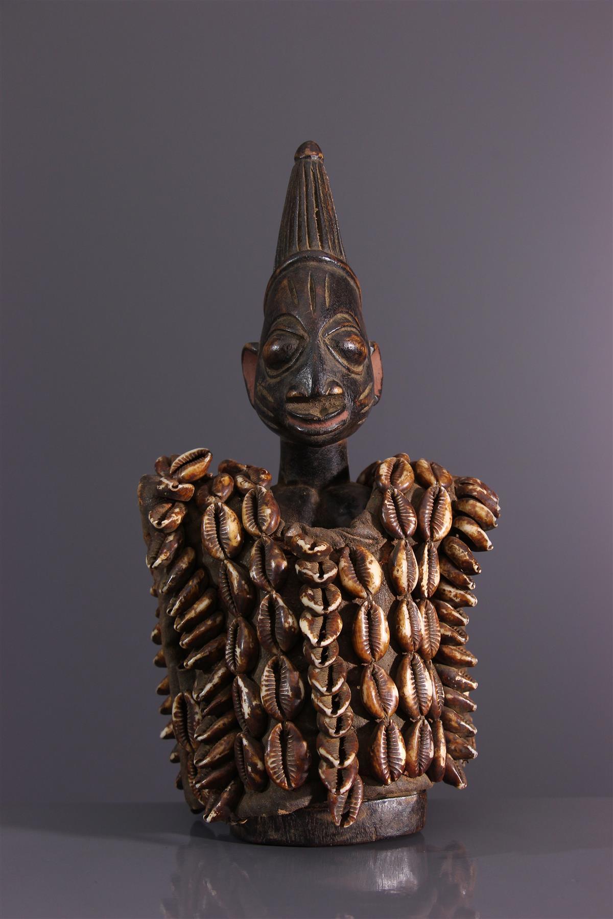 Statuette Yoruba - Art africain