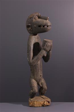 Statue singe Baule Aboya /Mbotumbo