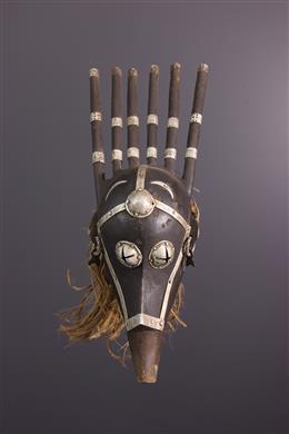 Masque Bamana du Ntomo