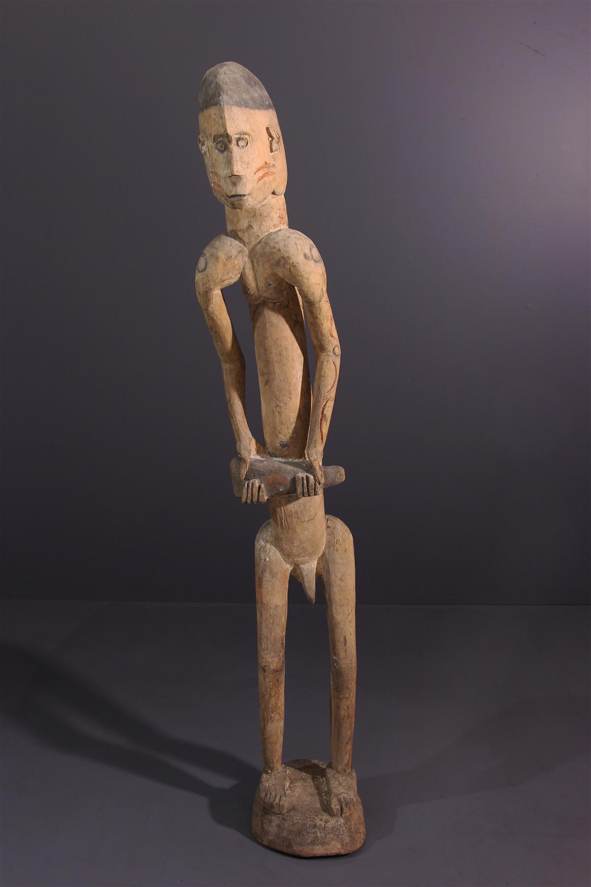 Statue Asmat - Art africain