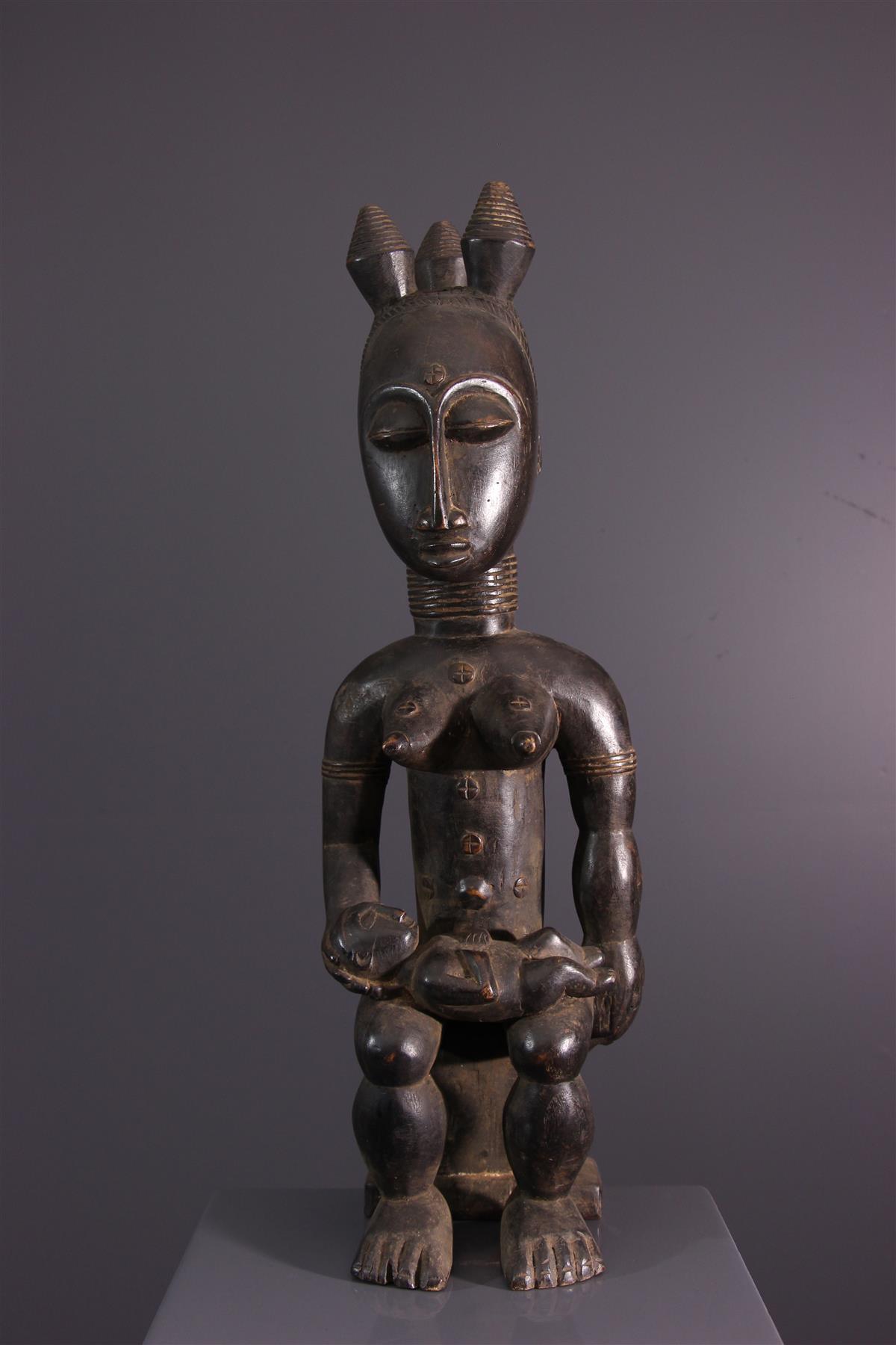 Statue Nkpasopi - Art africain