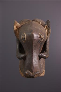 Masque zoomorphe Bemba