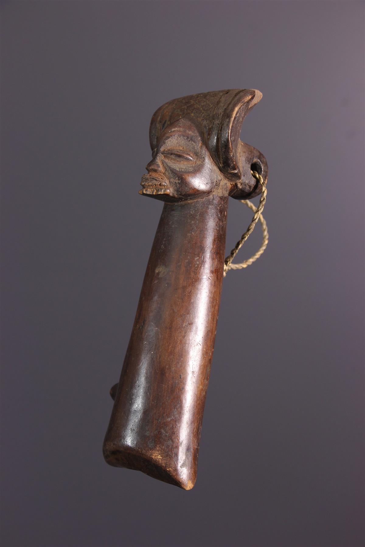 Sifflet Chokwe - Art africain
