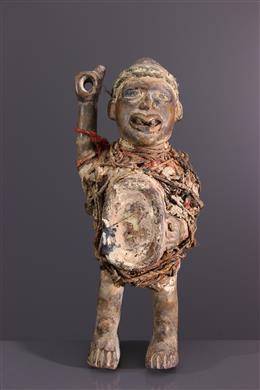 Statuette fétiche Nkisi Kongo