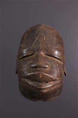 Masque Makonde Lipoko de Tanzanie
