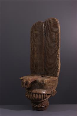 Art africain - Masque Batcham Msop / Tsemabu