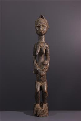 Figure de maternité Baoulé