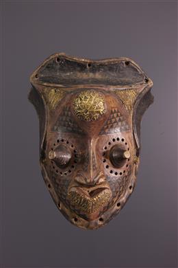 Masque Kuba Bushoong Isheen mwalu