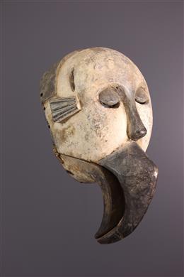 Masque à bouche articulée Elu Ogoni