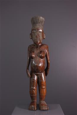 Figure féminine Mangbetu Nebeli